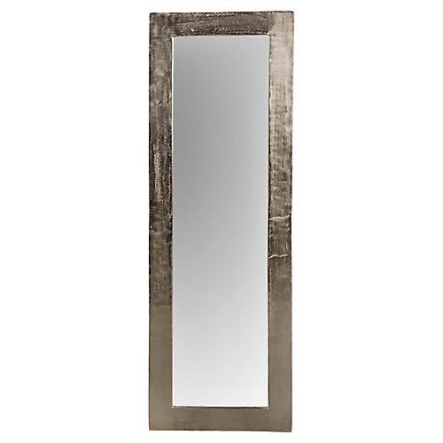Marella Floor Mirror, Silver