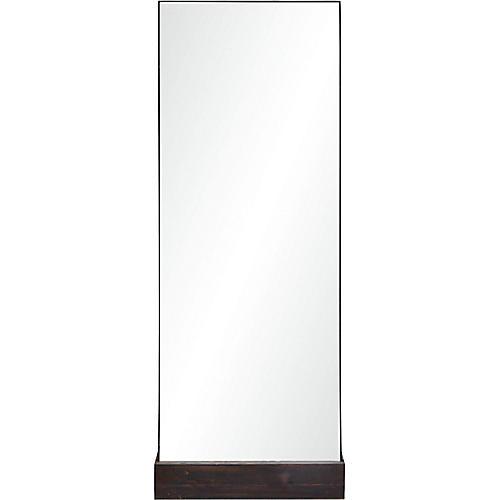 Kelson Floor Mirror, Espresso