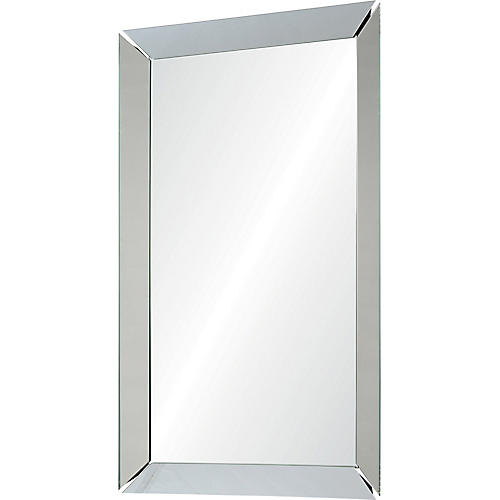 Encore Wall Mirror, Silver
