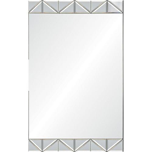Angus Wall Mirror, Clear