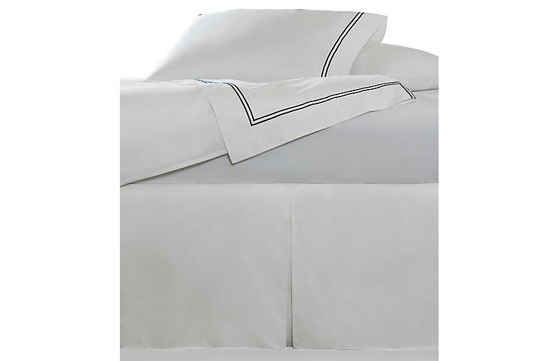 Grande Hotel Bed Skirt, White