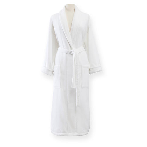 Fairfield Bath Robe, White