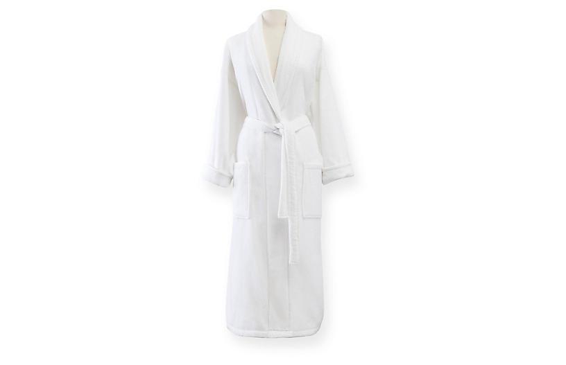 Fairfield Bath Robe, White
