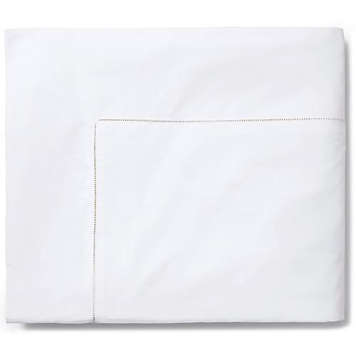 Celeste Duvet Cover, White