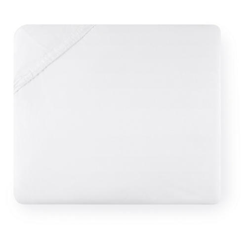 Celeste Fitted Sheet, White