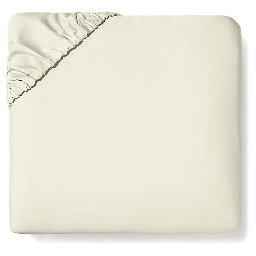 Fiona Fitted Sheet, Ivory