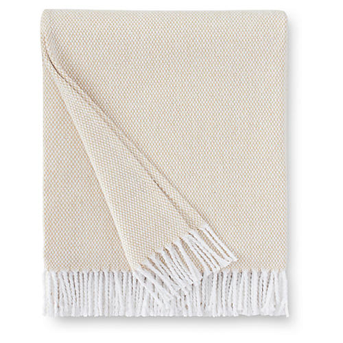 Terzo Cotton Throw, Sand