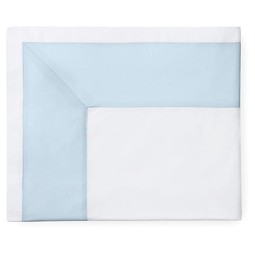 Casida Flat Sheet, White/Powder