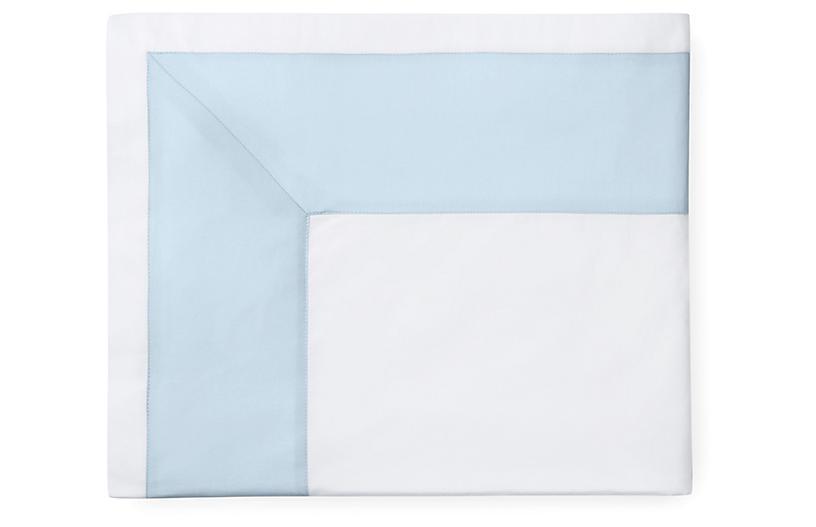 Casida Flat Sheet, White/Powder