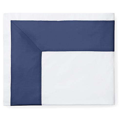 Casida Flat Sheet, White/Delft