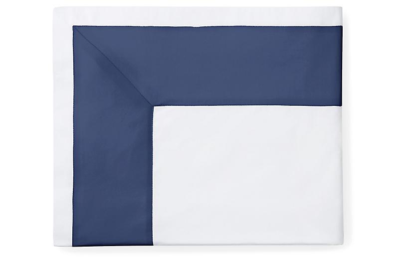 Casida Flat Sheet, White/Delft