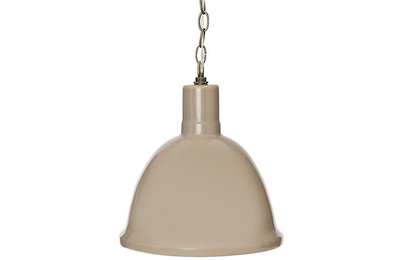 Malibu Hanging Pendant, Gray