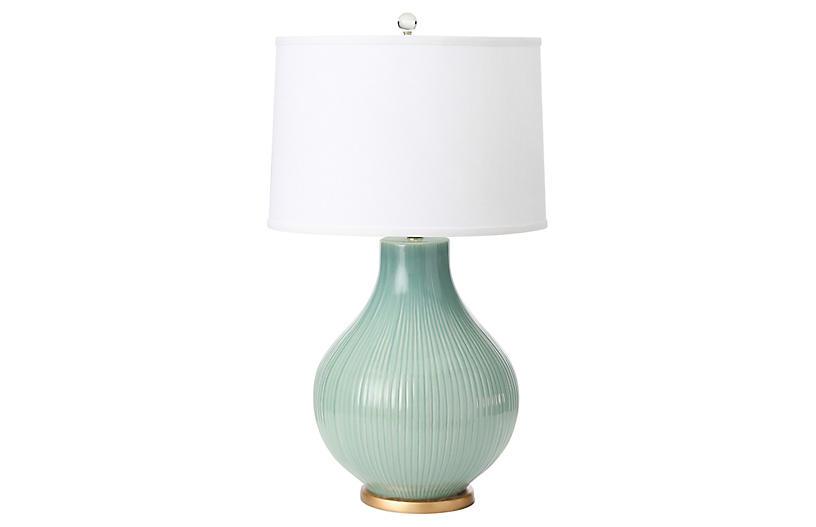 Santa Barbara Table Lamp, Oceean Spray