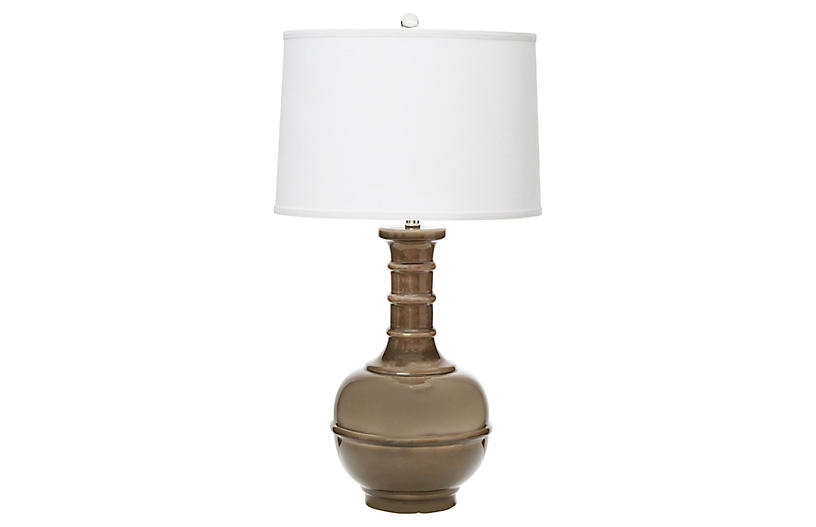 Westwood Table Lamp, Smoke