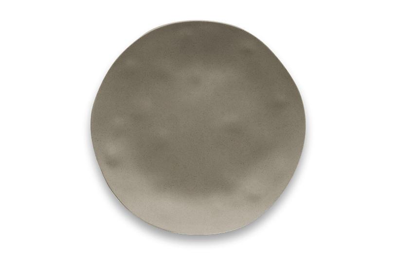 S/6 Matte Planta Dinner Plate, Dune