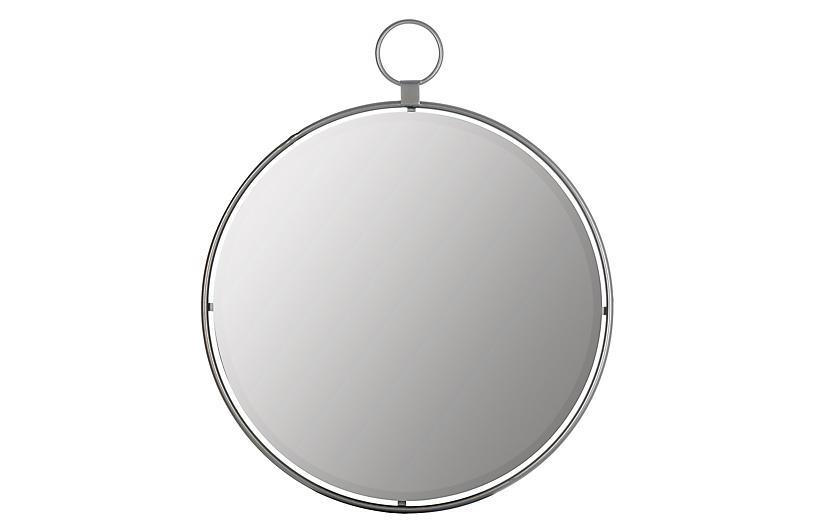 Lynden Wall Mirror, Silver