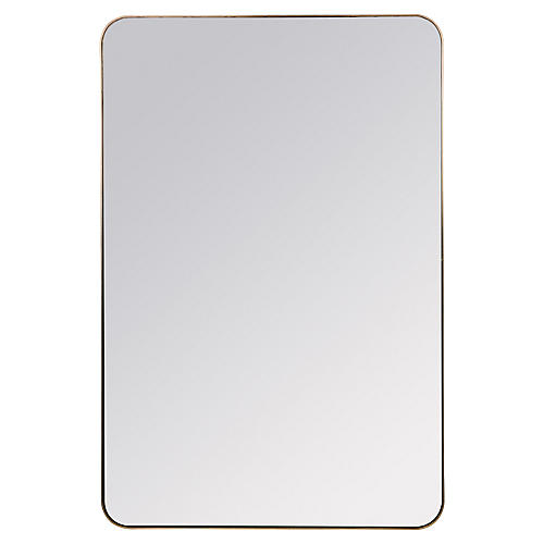 Somerset Wall Mirror, Bronze