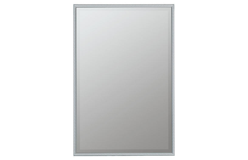 Stanwood Wall Mirror, White