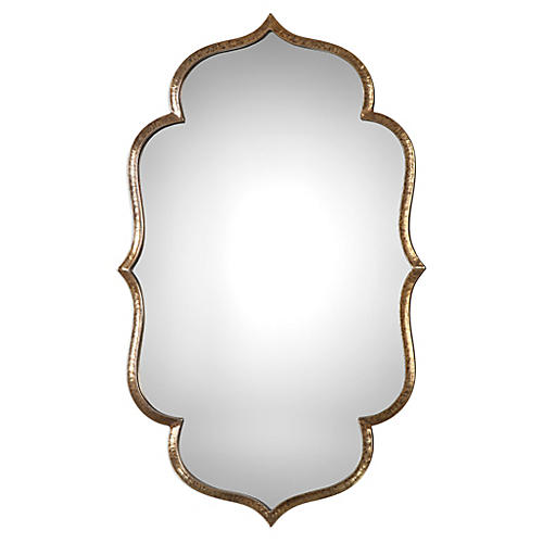 Zina Wall Mirror, Gold