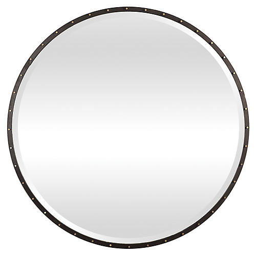 Benedo Wall Mirror, Black