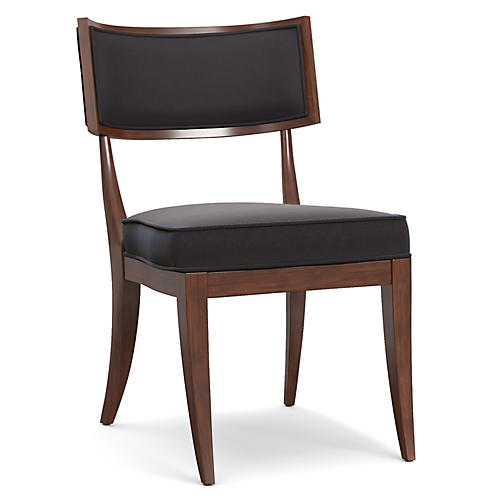 Kilsmos Perch Side Chair, Black