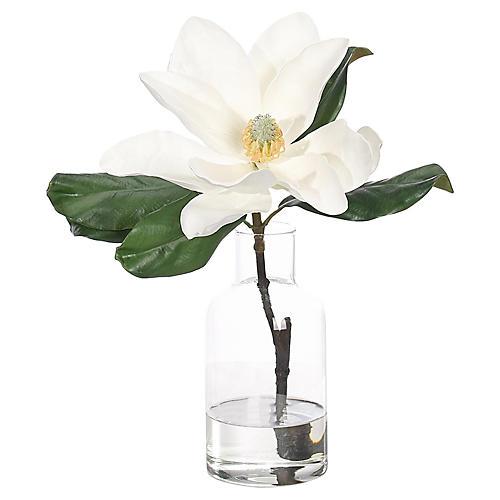 """12"""" Magnolia in Bottle, Faux"""
