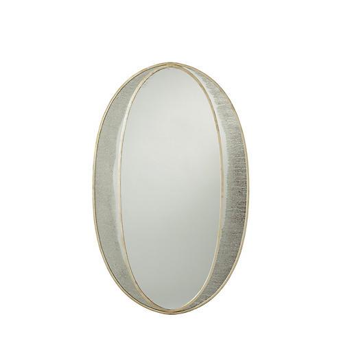 Nadine Wall Mirror, Champagne