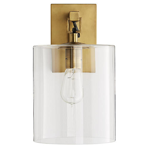 Parrish Sconce, Antiqued Brass