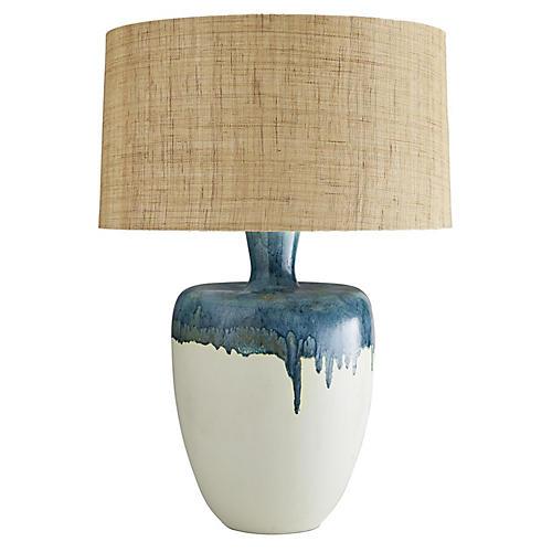 Nordic Table Lamp, Eggshell