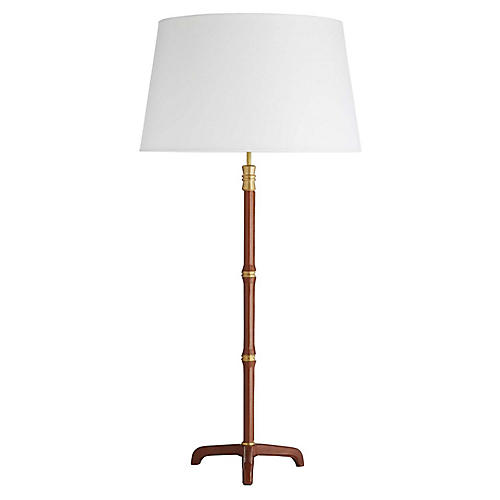 Addison Table Lamp, Cognac