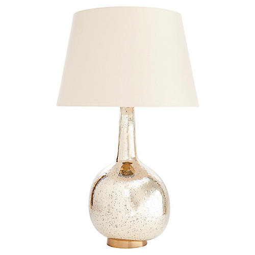 Mystic Table Lamp, Gold Luster