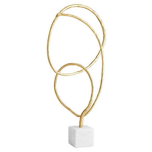 Prudence Sculpture, Gold