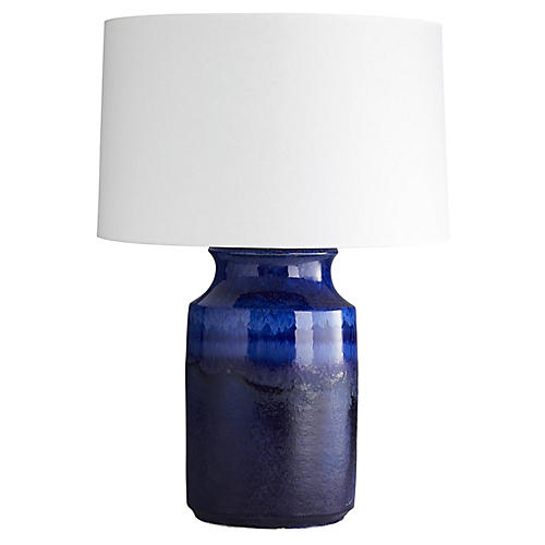 Preston Table Lamp, Lapis