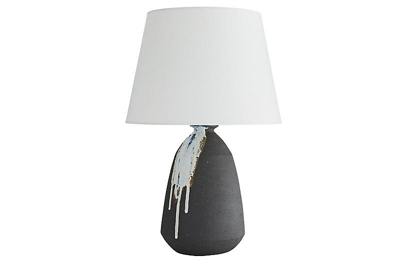 Padecio Table Lamp, Stone