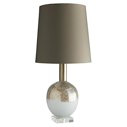 Portia Table Lamp, Plum