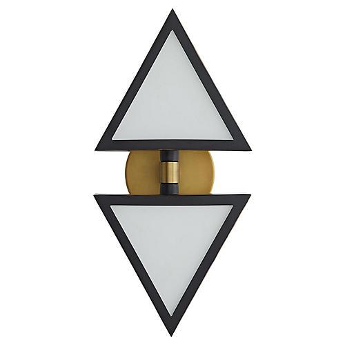Trevi Sconce, Antiqued Brass