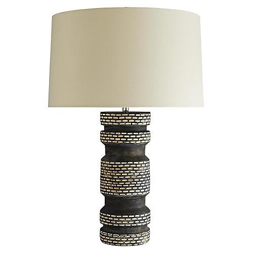 Sachin Table Lamp, Cortado