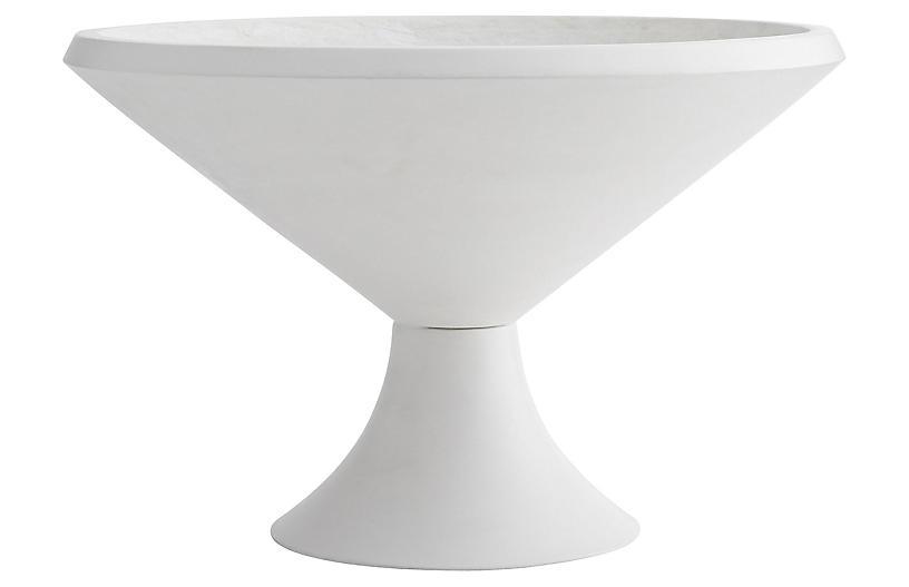 Cayden Centerpiece, White