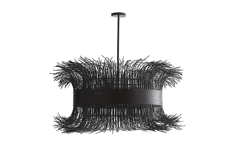 Filamento Chandelier, Black