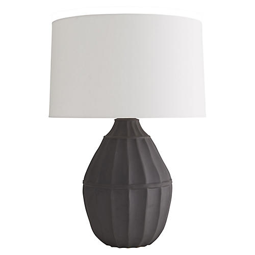 Tangier Table Lamp, Off-White
