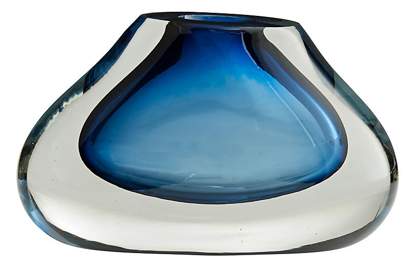Holland Vase, Blue