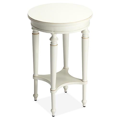 Olsen Side Table, White