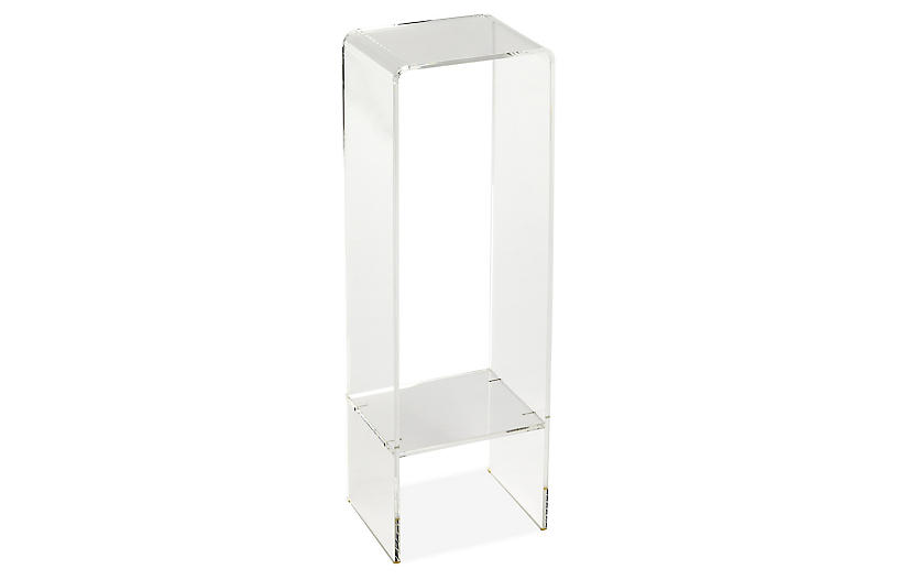Barret Side Table, Clear