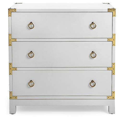 Smyth Dresser, White