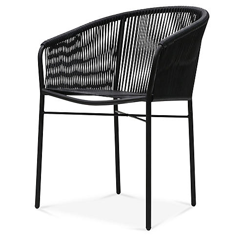 Anais Armchair, Black