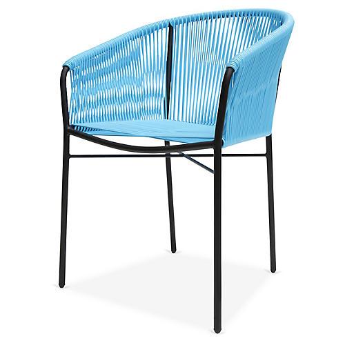 Anais Armchair, Baby Blue