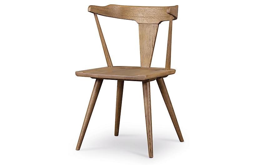 Maddox Dining Chair, Sandy Oak