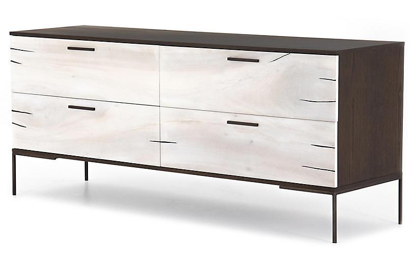 Kris Yucca Dresser, Gunmetal/Yukas