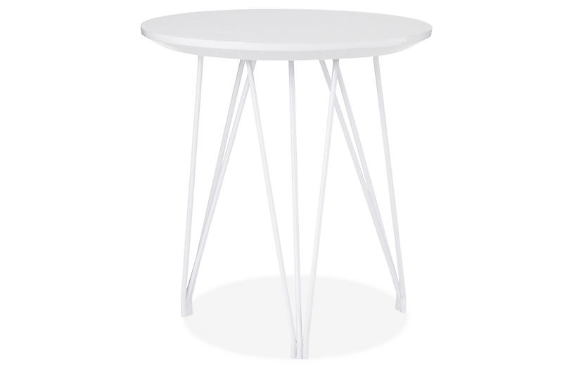 Eastwood Side Table, White