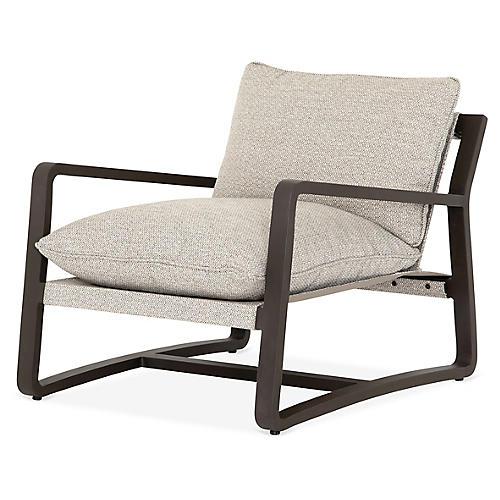 Lane Outdoor Chair, Bronze